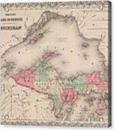 Northern Michigan And Lake Superior Acrylic Print