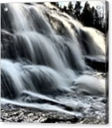 Northern Michigan Up Waterfalls Bond Falls Acrylic Print