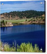 Northern New Mexico Lake Acrylic Print