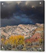 Northern Uintas Autumn Acrylic Print