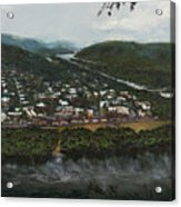 Northumberland On The Susquehanna River Acrylic Print