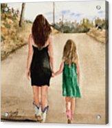 Northwest Oklahoma Sisters Acrylic Print