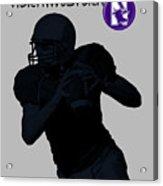 Northwestern Football Acrylic Print