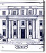 Northwestern Acrylic Print