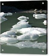 Norway, Iceberg Floating On Water Acrylic Print