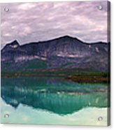 Norway Panorama Acrylic Print