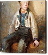 Norwegian Boy Acrylic Print