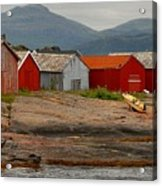 Norwegian Coast No. 3 Acrylic Print
