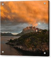 Norwegian Coast No. 6 Acrylic Print