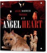 Norwich Terrier Art Canvas Print - Angel Heart Movie Poster Acrylic Print