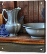 Nostalgia Wash Stand Acrylic Print by Bob Christopher