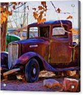 Nostalgic Rusty International Pickup Acrylic Print