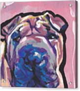 Not A Hippo- Just Hip Acrylic Print