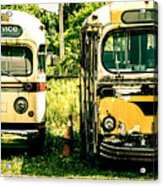 Not In Service Acrylic Print