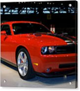 Not Just Another Challenger Acrylic Print