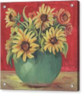 Not Just Sunflowers Acrylic Print
