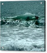 Not Now, Wave Acrylic Print