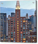 Not The Chrysler Building Nyc Acrylic Print
