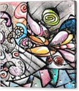Note Card Art Acrylic Print