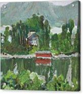 Nothagen Island Scenery Acrylic Print