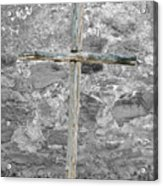 Nothing But The Cross Acrylic Print