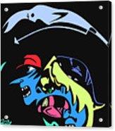 Notorious B.i.g. Full Color Acrylic Print