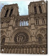 Notre-dame Cathedral Acrylic Print