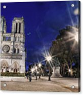 Notre Dame Cathedral Paris 2 Acrylic Print