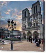 Notre Dame Cathedral Paris 2.0 Acrylic Print