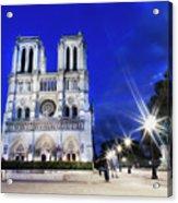 Notre Dame Cathedral Paris 4 Acrylic Print