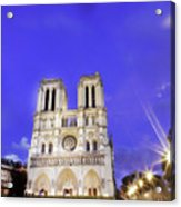 Notre Dame Cathedral Paris Acrylic Print