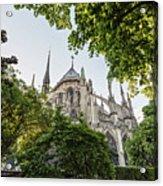 Notre Dame Cathedral - Paris, France Acrylic Print
