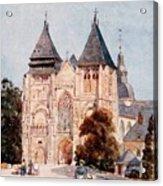 Notre Dame De La Couture Acrylic Print