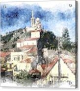 Notre Dame De La Garde-marseille Acrylic Print