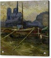 Notre-dame De Paris Acrylic Print