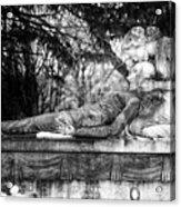 Notre-dame-des-neiges Cemetery Acrylic Print