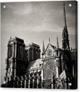 Notre Dame II Acrylic Print