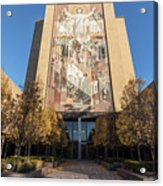 Notre Dame Library 2 Acrylic Print