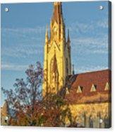 Notre Dame University Basilica Of The Sacred Heart Acrylic Print