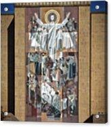 Notre Dame's Touchdown Jesus Acrylic Print
