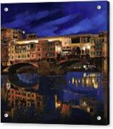 Notturno Fiorentino Acrylic Print