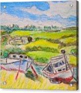 Nova Scotia Fishing Boats Acrylic Print