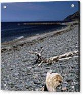 Nova Scotia Pebble Beach Acrylic Print