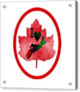 Nova Scotia Proud Acrylic Print