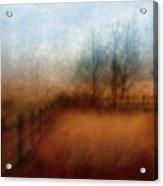 November Field Acrylic Print