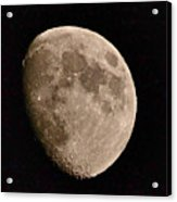 November Moon - Photograph Acrylic Print