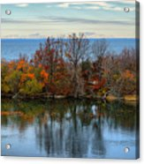 November Reflections Acrylic Print
