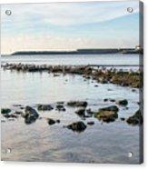 November Seascape 5 - Lyme Regis Acrylic Print