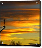 November Sunset Acrylic Print