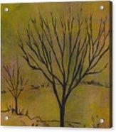 November Tree Acrylic Print